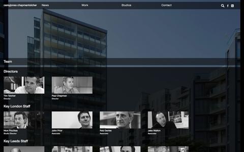 Screenshot of Team Page cjctstudios.com - Team Archives - careyjones chapmantolcher - careyjones chapmantolcher - captured Oct. 1, 2014