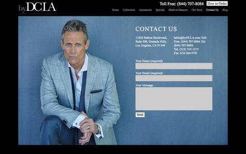Screenshot of Contact Page bydcla.com - Contact byDCLA | byDCLA - captured Sept. 30, 2014