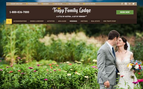 Screenshot of Testimonials Page trappfamily.com - Trapp Family Lodge Reviews and Testimonials - captured July 22, 2017