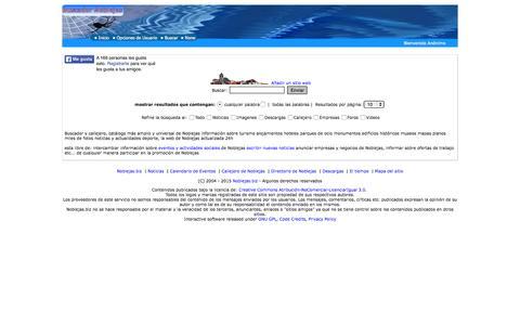 Screenshot of Home Page noblejas.biz - Buscador Noblejas › Buscador y Directorio de Noblejas - captured Aug. 29, 2015