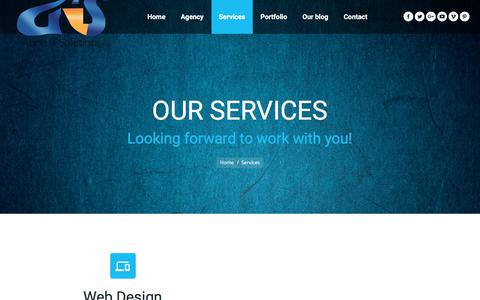Screenshot of Services Page abolsitsolutions.com - Services | Abols IT Solutions - captured July 28, 2018