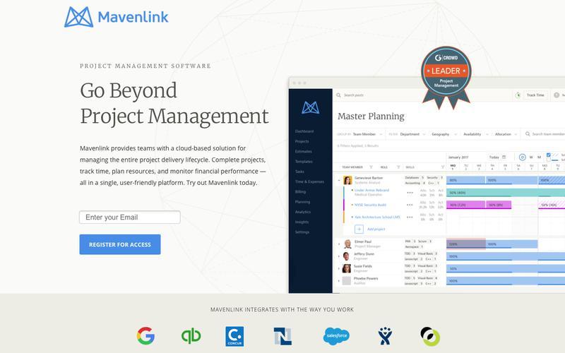 Project Management Software |  Mavenlink