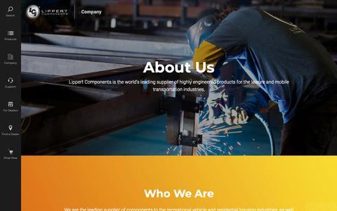 Screenshot of About Page lci1.com - About Us | LCI1.com - captured May 24, 2019
