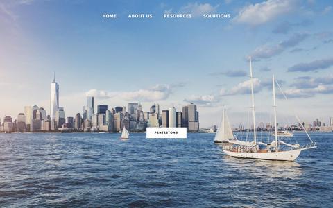Screenshot of Home Page proactiverisk.com - PROACTIVERISK - HOME - captured Sept. 11, 2018