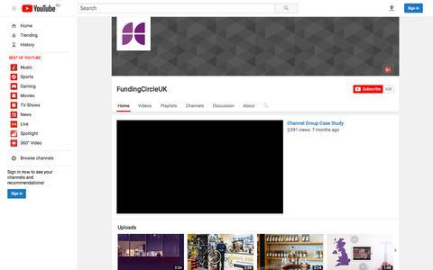 FundingCircleUK  - YouTube