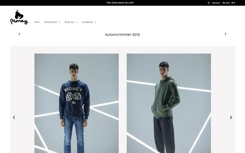 Money Clothing Autumn/Winter 2015 – MONEY