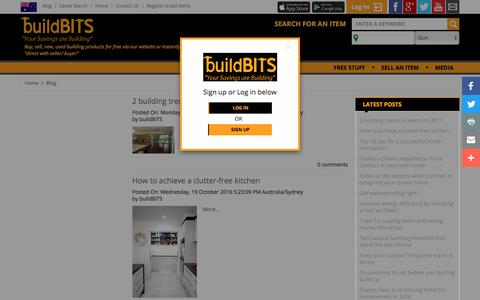 Screenshot of Blog buildbits.com.au - Blog - captured Sept. 24, 2018