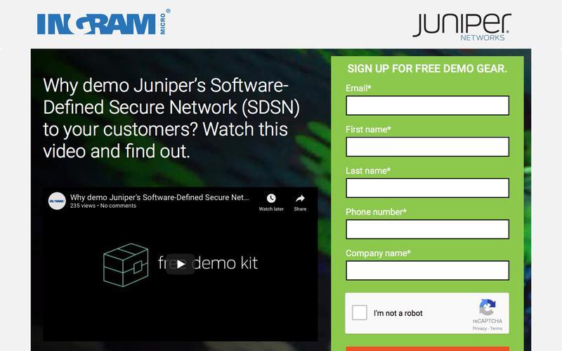 Juniper Demo Pool Program