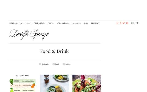 Food & Drink – Design*Sponge
