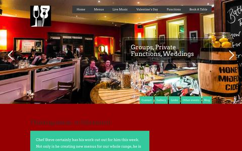 Screenshot of Blog greenparkbrasserie.com - Blog - Green Park Brasserie and Bar - captured Feb. 15, 2016