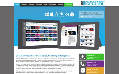 NetSupport School - Classroom Monitoring, Management, Orchestration and Collaboration