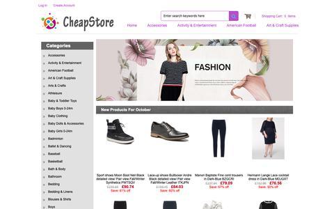 Screenshot of Home Page dept707.co.uk - Men's Oxford Shoes,Boots,Slippers Brisk Demand - captured Oct. 8, 2018