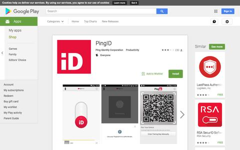 PingID - Android Apps on Google Play