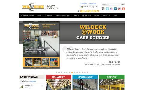 Industrial Mezzanines and Work Platforms | Wildeck, Inc.