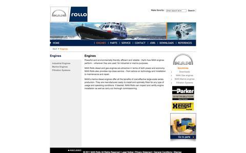 Screenshot of Products Page manrollo.com - MAN Rollo product range - captured Oct. 4, 2014