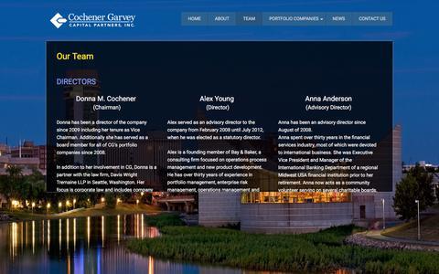 Screenshot of Team Page cgcpi.com - Our Team - CGCPI - captured Jan. 29, 2016