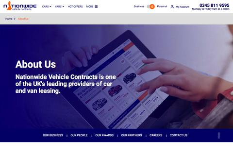 About Us - Nationwide Vehicle Contracts