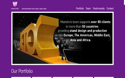 Screenshot of Privacy Page maestrodisplays.com - Maestro Display - captured Sept. 30, 2014