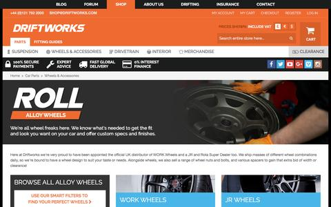 Screenshot of driftworks.com - Wheels & Accessories by Driftworks.com, the Wheels & Accessories ex - captured March 25, 2017