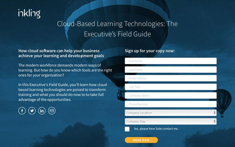 Cloud-Based Learning Technologies: The Executive's Field Guide