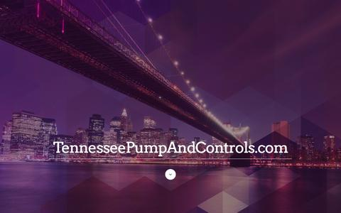 Screenshot of Products Page tennesseepump.com - Product Page | TennesseePumpAndControls.com - captured Feb. 14, 2016