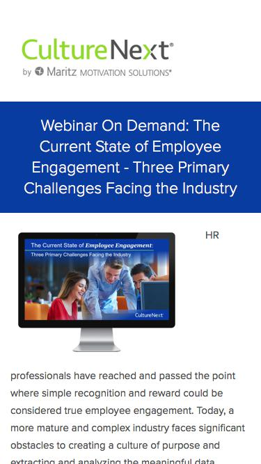 The Current State of Employee Engagement