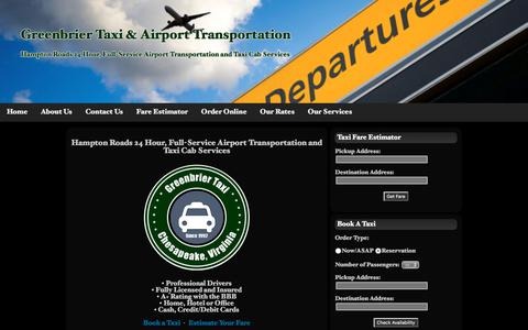Greenbrier Taxi & Airport Transportation