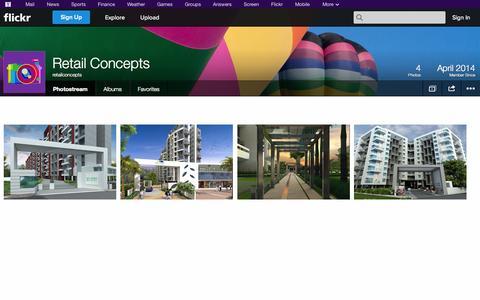 Screenshot of Flickr Page flickr.com - Flickr: retailconcepts' Photostream - captured Oct. 26, 2014