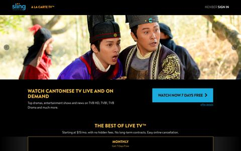 Sling TV - Watch Live TV Programming Any Time and Anywhere