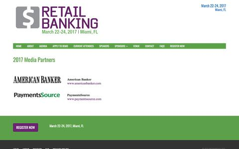 Media Partners | Retail Banking Conference