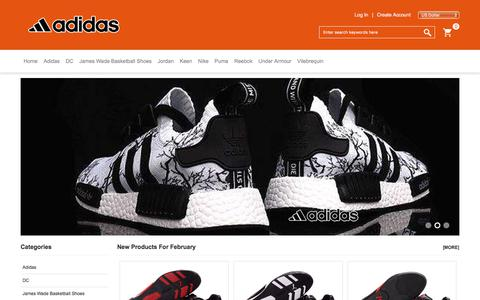 Screenshot of Home Page oldstreetclub.com - Adidas Superstar Shoes Online Store - Largest Fashion Store - Online Leading Retailer In Puma USA - captured Feb. 1, 2018