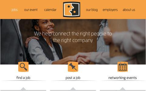 Screenshot of Jobs Page pdxmindshare.com - Portland, OR Jobs Page for Employers & Employees | pdxMindShare - captured June 28, 2017