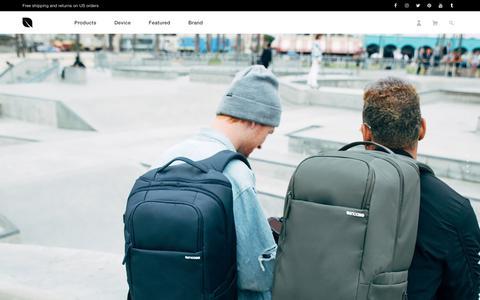 Screenshot of Support Page incase.com - Incase - captured July 9, 2017