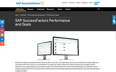 Performance & Goals             | SuccessFactors