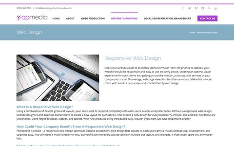 Responsive Web Design | Mobile Website Designs for All Devices by AP Media