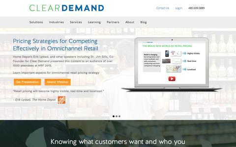 Omnichannel Demand Management |Price Optimization |Clear Demand