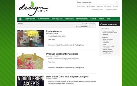 Screenshot of Press Page designdesign.us - Design Design Blog - News & Information | Design Design, Inc. - captured Jan. 10, 2016