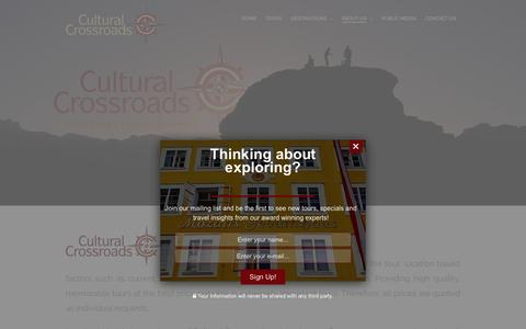 Screenshot of Pricing Page culturalcrossroads.com - Pricing | Cultural Crossroads - captured May 23, 2017