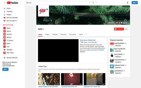 AAA  - YouTube