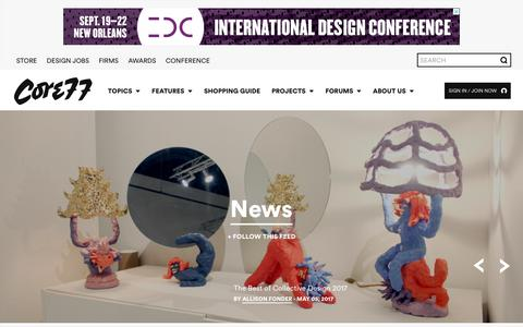 Design Press Pages | Website Inspiration and Examples | Crayon