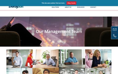 Our Management Team - DerbySoft
