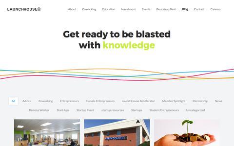 Screenshot of Blog launchhouse.com - Blog - LaunchHouse - captured July 19, 2017