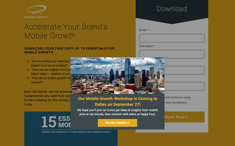 Accelerate Your Brand's Mobile Growth