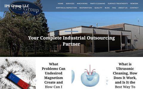 Screenshot of Blog ipsgroupllc.com - Blog – IPS Group LLC - captured Oct. 12, 2018