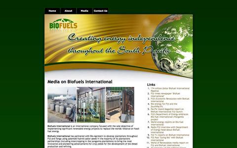 Screenshot of Press Page biofuelsonline.net - Biofuels International - captured Oct. 5, 2014
