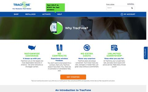 Why TracFone & About Us | Tracfone Wireless