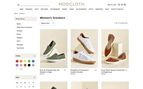 Cute & Vintage-Inspired Women's Sneakers | ModCloth