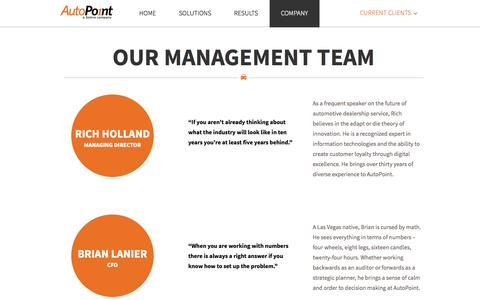 Screenshot of Team Page autopoint.com - AutoPoint   –  Team Temporary - captured Nov. 2, 2014