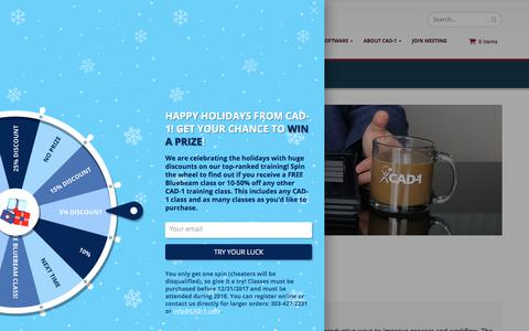 Screenshot of Services Page cad-1.com - CAD Services | CAD-1 SOFTWARE & SERVICE PROVIDER - captured Dec. 25, 2017