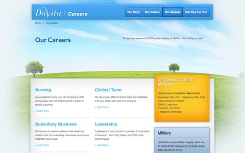 Low traffic Healthcare & Medical Jobs Pages on Drupal | Website